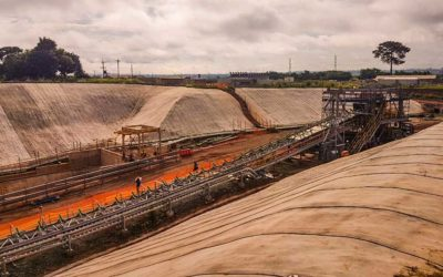 Rapid slope protection at Newmont Ghana Gold Mine