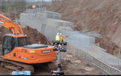 Aldi use Geosynthetics solution to expand HQ