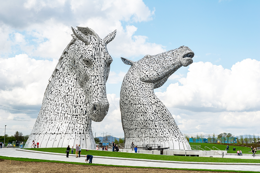 "Leca plays a key role in ""Kelpies"" project enabling construction"